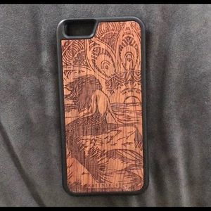Wooden Iphone 6/6s phone case! perfect condition